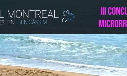 3er Premio del III Concurso de Microrrelatos Hotel Montreal