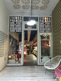 Entrada da loja Tienda Palacio em Buenos Aires