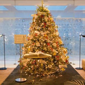 Decoração de Natal do Mandarin Oriental Barcelona