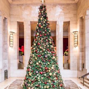 Decoração de Natal do Four Seasons New York