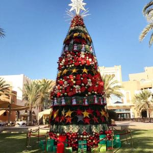 SDecoração de Natal do hangri-la Barr Al Jissah