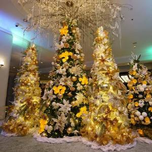 Decoração de Natal do Shangri-la Mactan