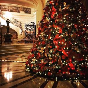 Decoração de Natal do Shangri-la Paris