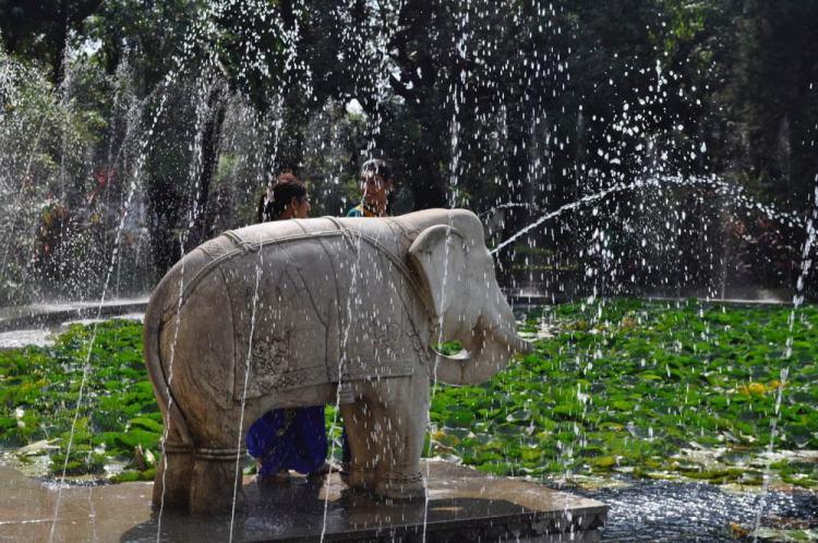 Jardim das Donzelas em Udaipur