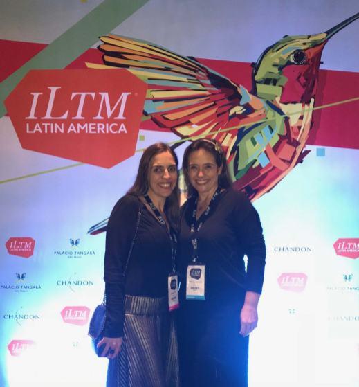 Com Maria Alice Cavalcanti (The Global Nomads) na abertura, no Palácio Tangará