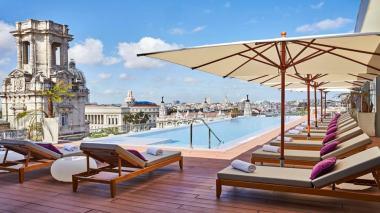 Rooftop do Grand Hotel Manzana Kempinski