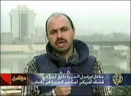 El reportero Tareq Ayoub, muerto en un ataque de EEUU a la sede de Al Yazeera en Bagdad.