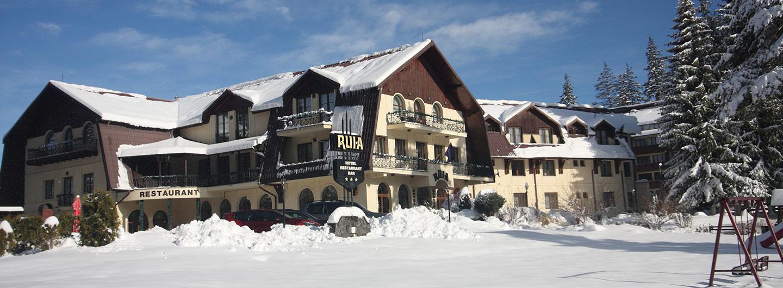 Hotel Ruia in winter