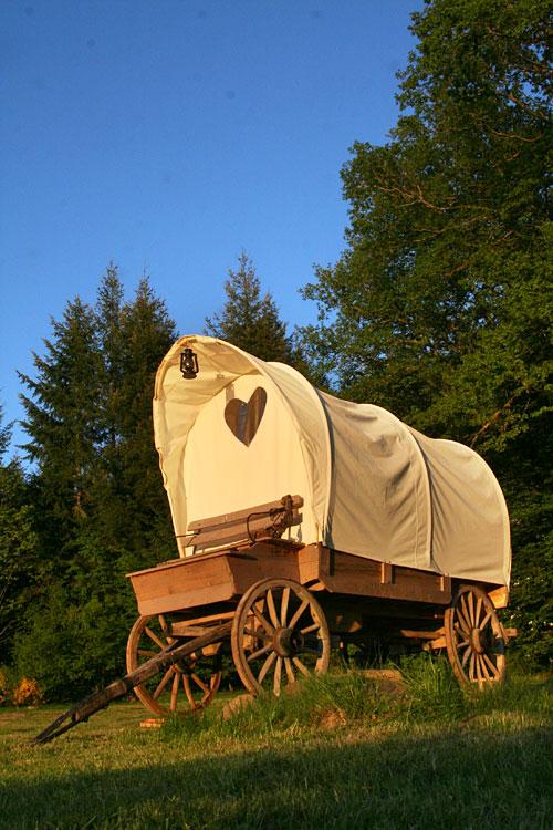 Dormir Dans Un Chariot Western La Ferme Aventure Lorraine