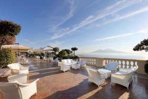 Eurostars Hotel Excelsior Napoli - terrazza con vista panoramica