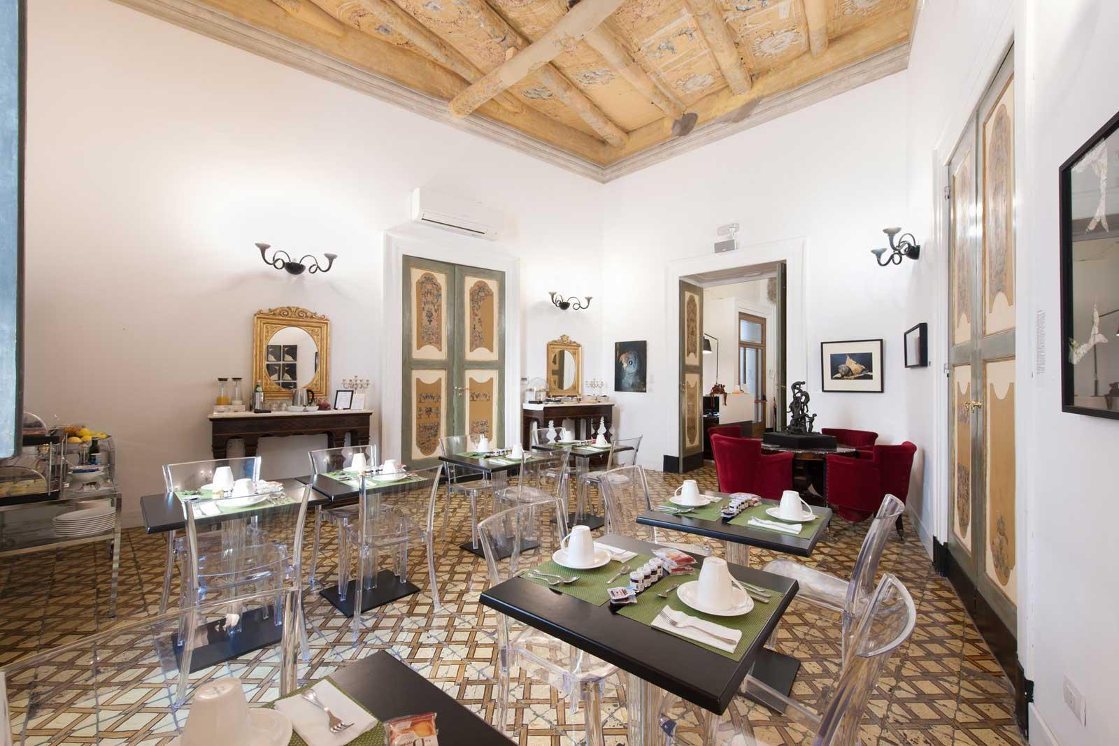 Santa Chiara Boutique Hotel 4 stelle Napoli - Sala Colazione