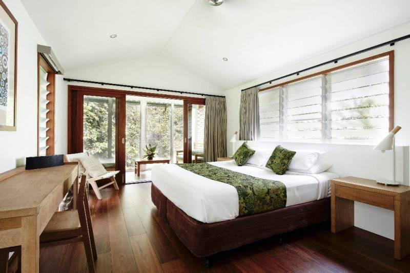 Inside of luxury eco-hotel, Daintree Ecolodge
