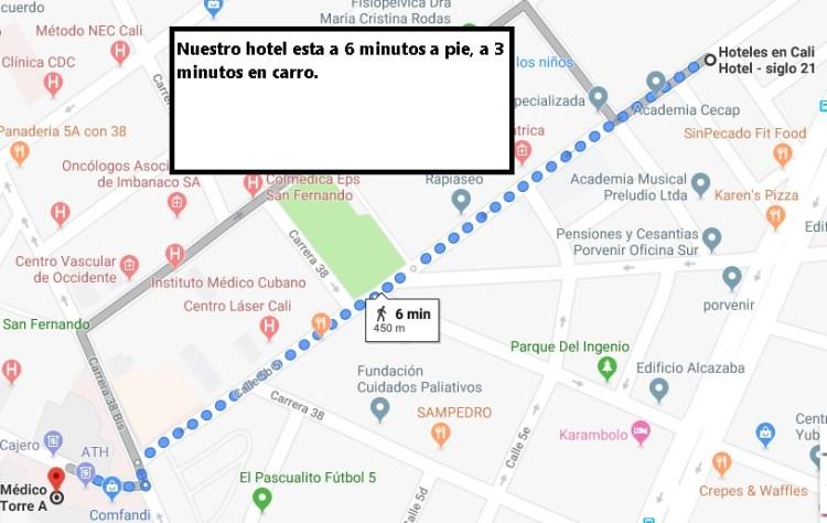 hoteles en cali cerca de imbanaco