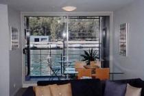 Living Room Finger Wharf Apartments
