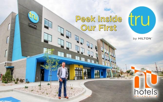 Peak Inside A Brand New Tru By Hilton!