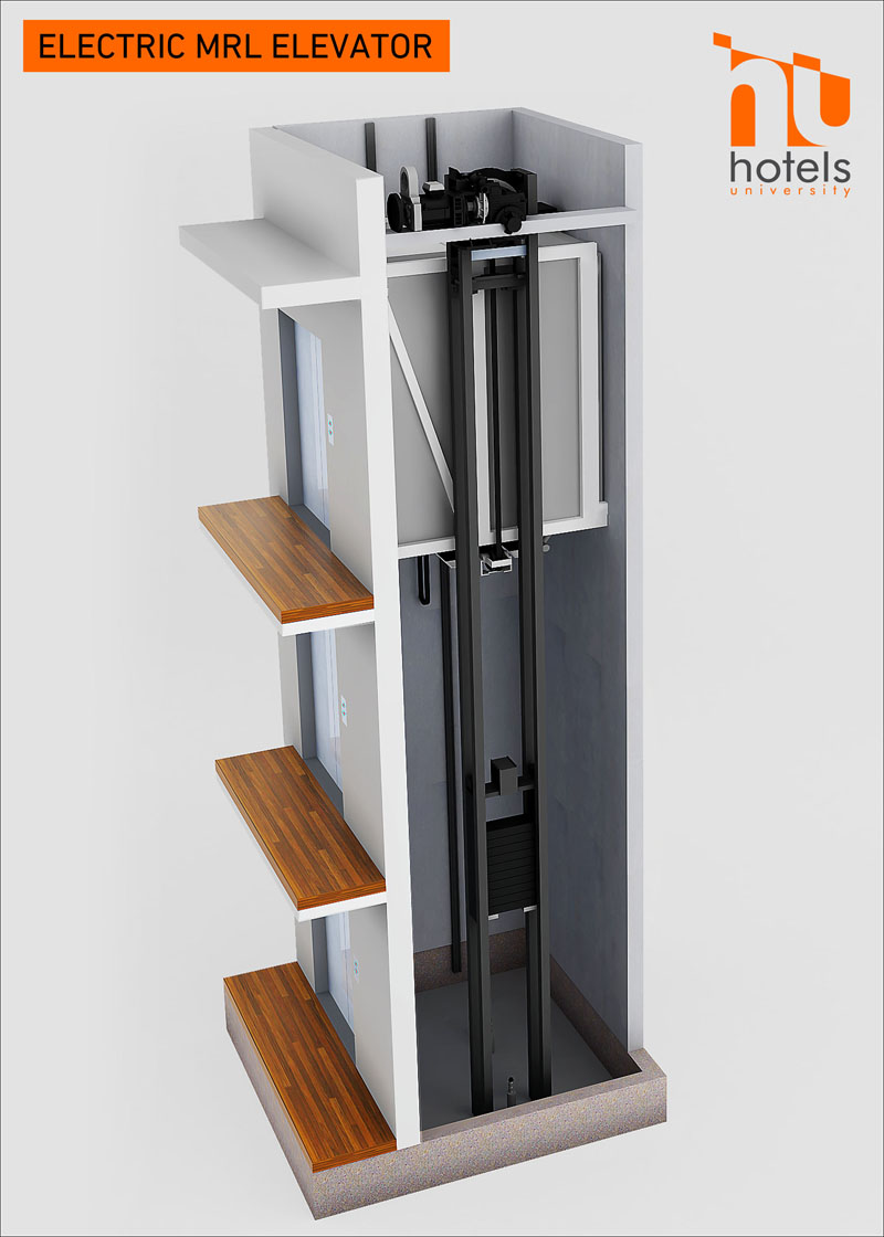 Electric Mrl Vs Hydraulic Elevators What Is Right For Your Hotel Elevator Schematic See Below Of A Typical
