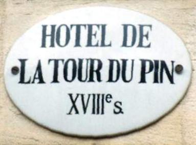 Hôtel de La Tour du Pin