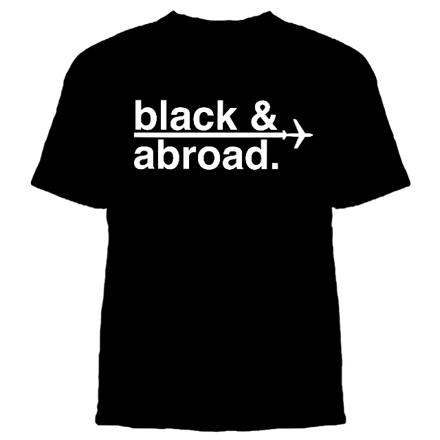 Black and Abroad Tee