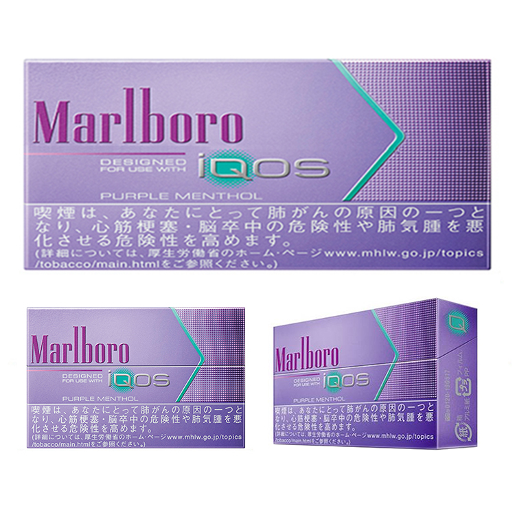 Marlboro Heatsticks Purple Menthol - 1 Carton