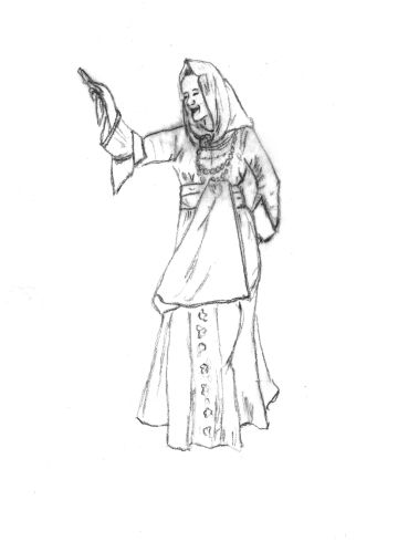 Γυναικεία φορεσιά Καλύμνου Δωδεκανήσου