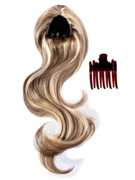Bounce Clip In Ponytail By Hot Hair Ladies Womens Wigs