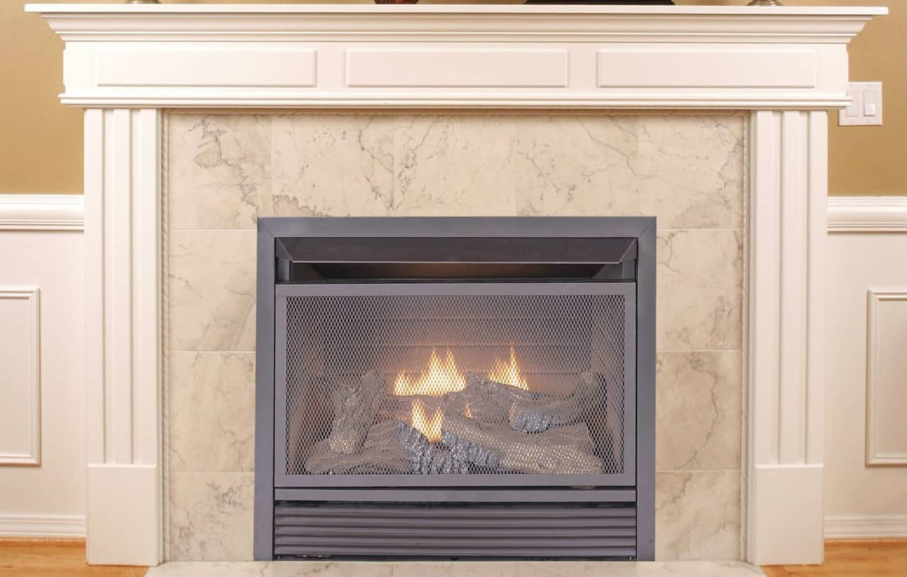 Vent Free Gas Fireplace Insert Monessen Artisan See Thru