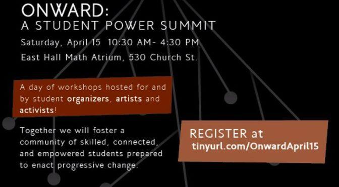 Onward: A Student Power Summit