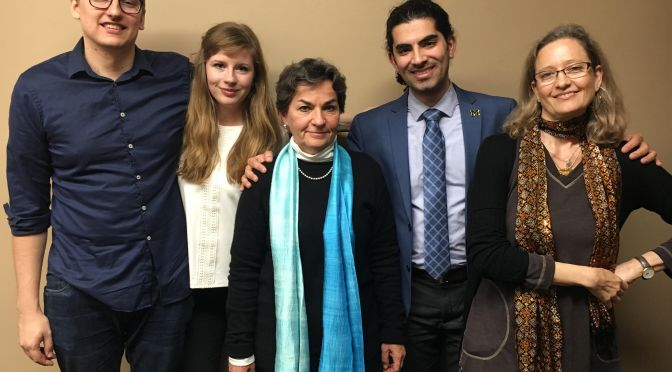 A Conversation With Global Climate Change Leader Christiana Figueres