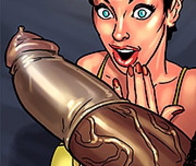 Thats Too Big For A Xxl Condom Art Class By Black N White Comics