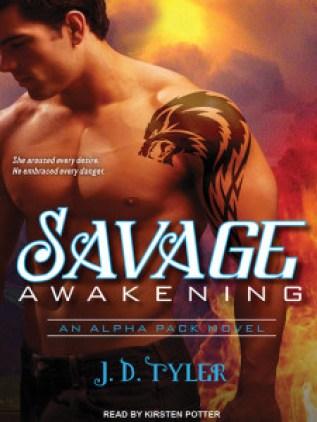 Savage Awakening Audiobook Cover