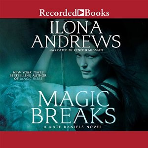 Magic Breaks Audiobook Cover
