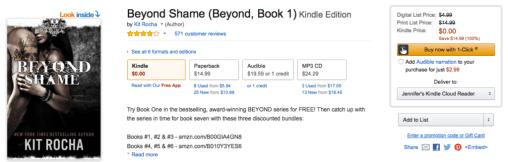 Beyond Shame Whispersync Example