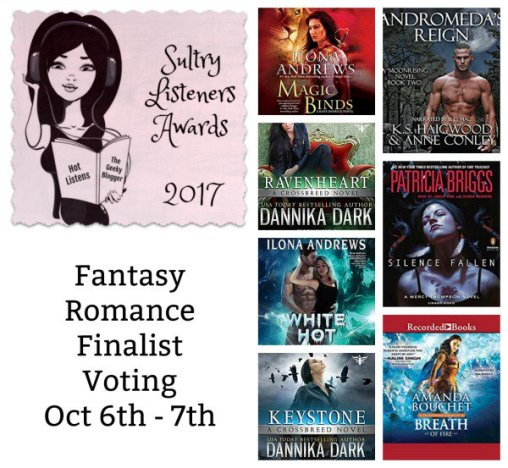 Sultry Listeners Awards - Fantasy