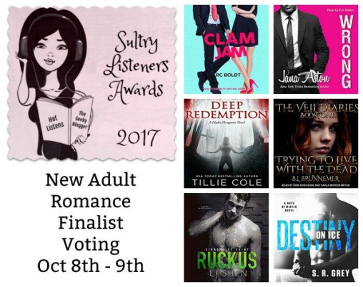 Sultry Listeners Awards - New Adult