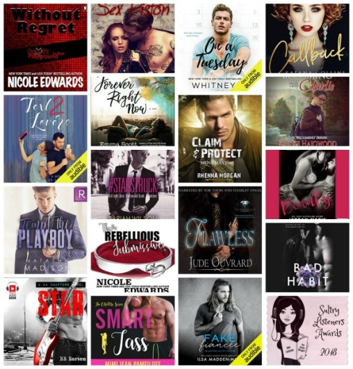 #SultryListeners Awards Semi-Finals 2018 – New Adult