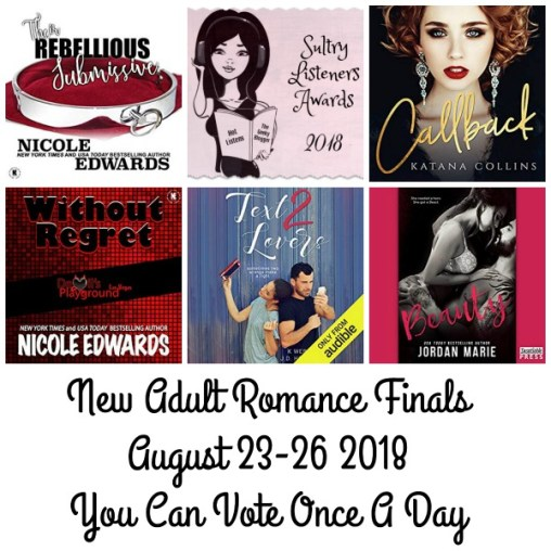 #SultryListeners Awards Finals 2018 – New Adult