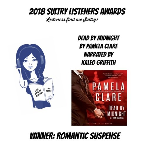 #SultryListeners Awards Winner 2018 – Romantic Suspense
