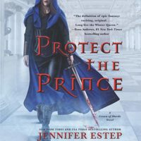 Audiobook Cover: Protect the Prince (Crown of Shards #2) by Jennifer Estep performed by Lauren Fortgang