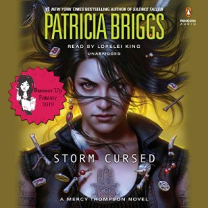 2019 Sultry Listener Fantasy Runner Up - Storm Cursed (Mercy Thompson #11) by Patricia Briggs performed Lorelei King