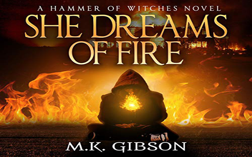 She Dreams of Fire Audiobook by M. K. Gibson (REVIEW)
