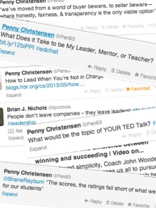 Leadership Tweet Collage