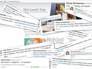 Self Interest Tweet Collage