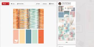Pinterest Color Scheme Board