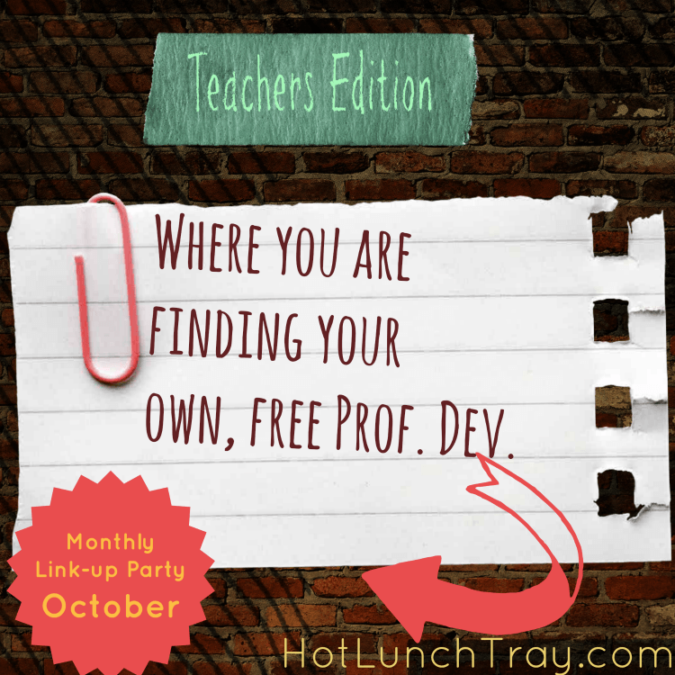 October Where Find Free Prof Dev