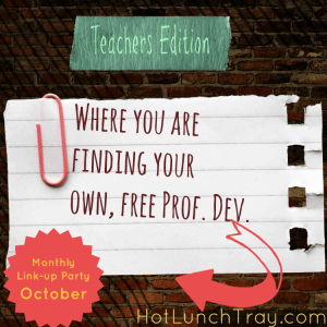 October Where Find Free Prof Dev