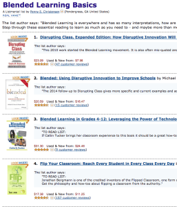 Amazon List: Blended Learning Basics