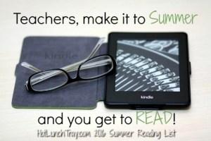 2016 Summer Reading List