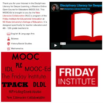 Disciplinary Literacy MOOC