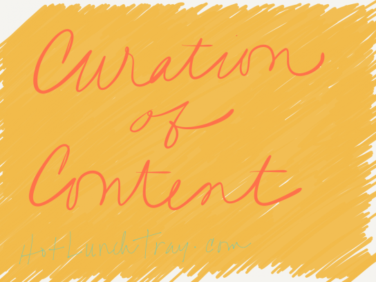 Curation of Content Sketch