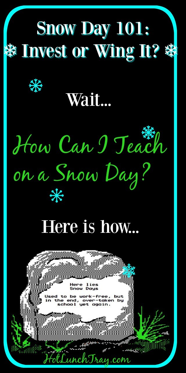 Snow Day Pin